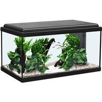 Aquatlantis Aquarienset LED schwarz