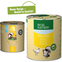 REAL NATURE Light 6x800g Huhn mit Pute
