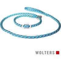 Wolters Moxonleine Everest Aqua/Schwarz 13 mm