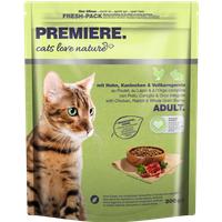 cats love nature Adult Huhn, Kaninchen & Vollkorngerste 300g