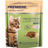 cats love nature Adult Huhn, Lachs & Vollkorngerste 300g