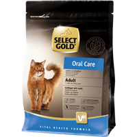 SELECT GOLD Adult Oral Care Geflügel mit Lachs 400g