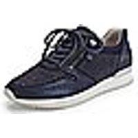 Image of Kidskin suede sneakers Gabor blue size: 37,5