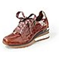 Image of Sneakers made of cowhide nappa Softwaves brown size: 41