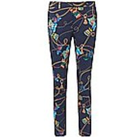 Image of Ankle-length trousers Barbara fit Peter Hahn multicoloured size: 26
