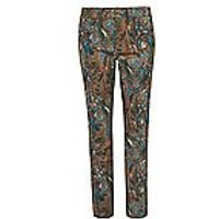 Image of Ankle-length jeans – Barbara fit Peter Hahn brown size: 20s