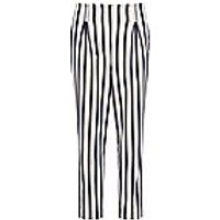 Image of 7/8-length pleated slim fit trousers DAY.LIKE multicoloured size: 16s
