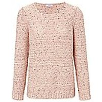 Image of Round neck jumper mayfair by Peter Hahn multicoloured size: 14