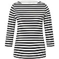 Image of Top 3/4-length sleeves and boat neck Bogner multicoloured size: 18
