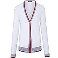 Image of Cardigan in 100% cotton Peter Hahn white size: 12