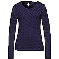 Image of Round neck jumper Uta Raasch blue size: 20