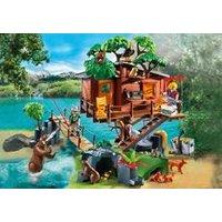 Cabane des aventuriers dans les arbres PlayMobil