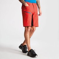 Mens Renew Multi Pocket Cycle Shorts Fiery Red