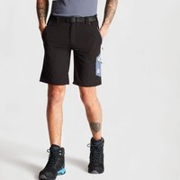 Mens Disport Lightweight Multi Pocket Shorts Black