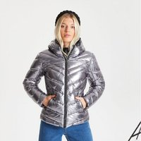 Dare 2b - Womens Reputable Insulated Quilted Hooded Luxe Jac