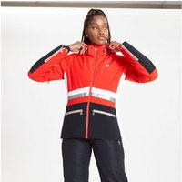 Dare 2b - Womens Evidence Waterproof Insulated Hooded Ski Jacket Seville Red Black White