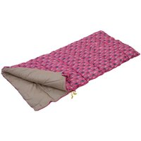 Maui Kids Polyester Lined Sleeping Bag Pretty Pink Print
