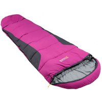 Hilo Boost Expandable Sleeping Bag Vivid Violet Ebony