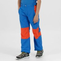 Kids Sorcer Mountain lll Lightweight Walking Trousers Blue Amber