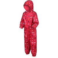 Peppa Pig Pobble Waterproof Puddle Suit Bright Blush