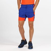 Mens Sungari Lightweight Walking Shorts Surfspray Blaze Orange