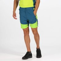 Mens Sungari Lightweight Walking Shorts Sea Blue Lime Punch