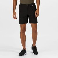 Mens Highton Mid Length Walking Shorts Black