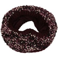 Womens Lorelai Chunky Acrylic Knit Snood Burgundy