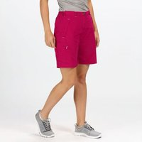 Womens Chaska Walking Shorts Dark Cerise