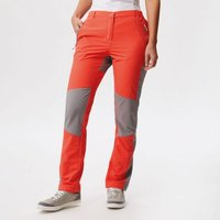 Womens Sungari Trousers Neon Peach Rock Grey