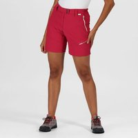 Womens Mountain Walking Shorts Dark Cerise