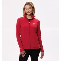 Womens Connie III Funnel Neck Softshell Jacket Tibetan Red