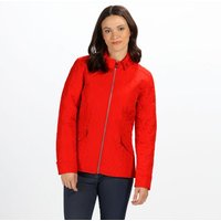 Womens Cressida Quilted Jacket Fiery Red