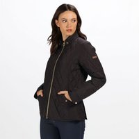 Womens Cressida Quilted Jacket Black