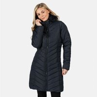 Womens Fritha Insulated Quilted Parka Jacket Navy