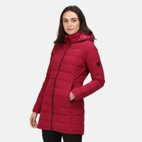 Womens Starler Insulated Padded Jacket Beetroot