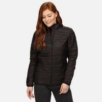 Womens Firedown Baffled Quilted Jacket Black