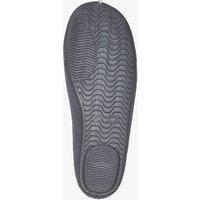 Grjize pantoffels voor dames van thu!s. gemaakt van textiel, een zachte voering van textiel en een stevige ...