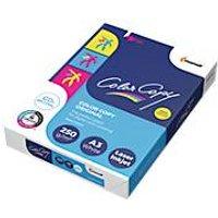 Kopierpapier Mondi Color Copy, DIN A3, 250 g/m², reinweiß, 1 Paket = 125 Blatt