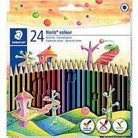 Farbstift Noris colour 185C24 f. sortiert 24 St./Pack - Staedtler
