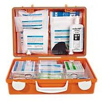Soehngen Erste-Hilfe-Koffer Chemie & Physik, ABS-Kunststoff, f. Verbrennungen/Ätzung