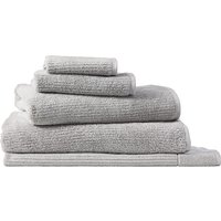 Sheridan Living textures towel collection - ash / face washer