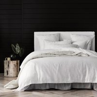 Sheridan Sanderling TENCEL Lyocell quilt cover set - white / single