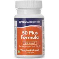 50 Plus Formula (120 Tablets)