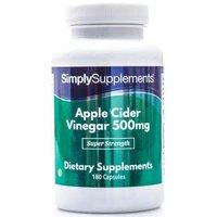 Apple cider vinegar 500mg   Small