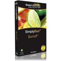 Burnoff simplybest blister pack