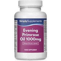 Evening primrose oil 1000mg blister pack