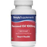 Flaxseed Oil 1000mg (120 Capsules)