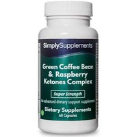Green coffee bean raspberry ketones complex