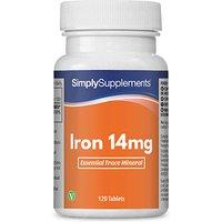 Iron 14mg (120 Tablets)